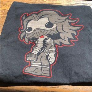 Funko Pop! Winter soldier 2XL T-shirt